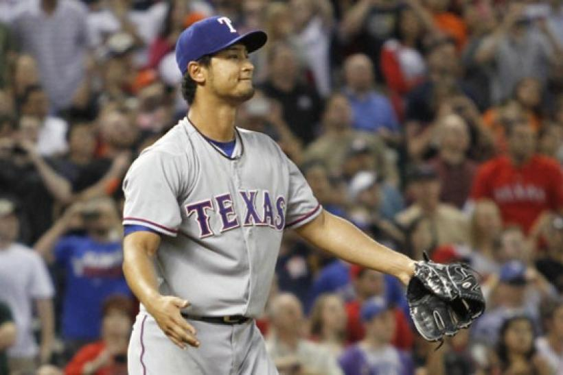 Yu Darvish Texas Ranges