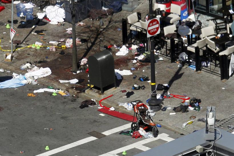 Boston Bombing blood, items 16April2013