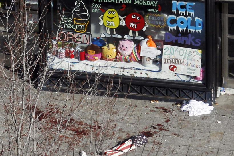Boston Bombings candy store 16April2013