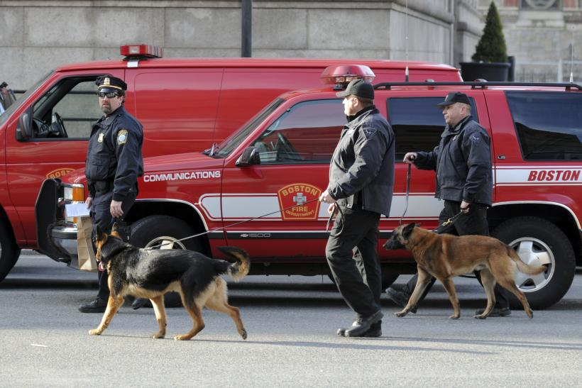 BostonBombing 16April2013 dogs