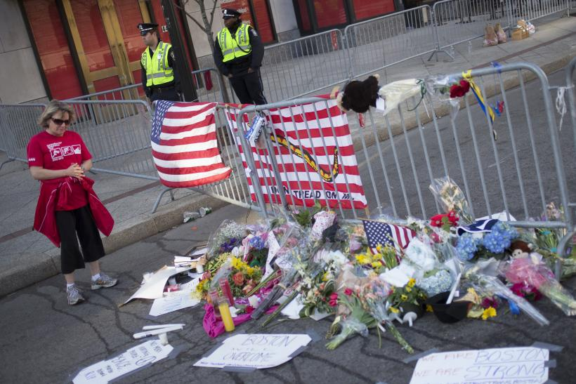 Boston Bombing shrine 17April2013