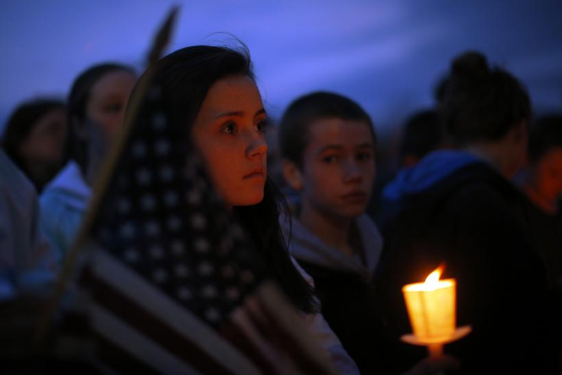 Boston Bombing vigil candle 16April2013