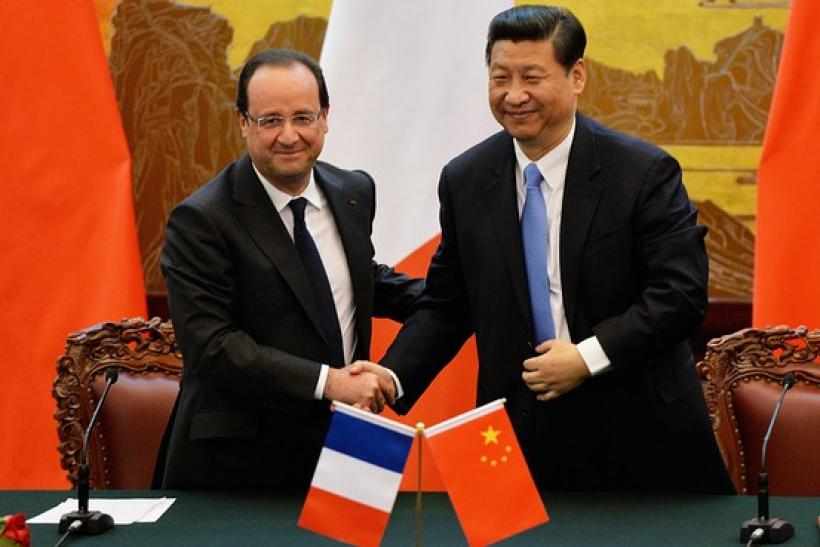 Hollande And Xi
