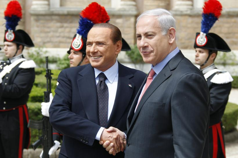 Berlusconi and Netanyahu