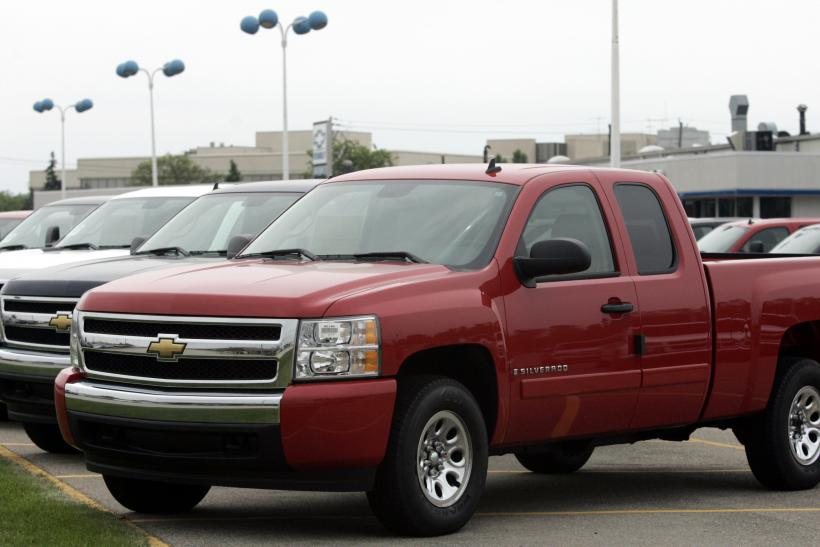 GM Chevy Truck 2012