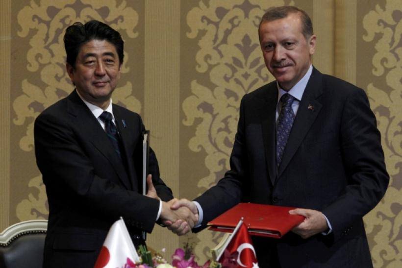 Abe and Erdogan