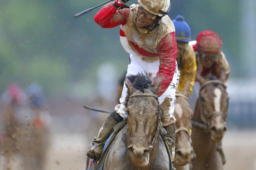 Kentucky Derby-Winning Jockey Joel Rosario-May 4, 2013