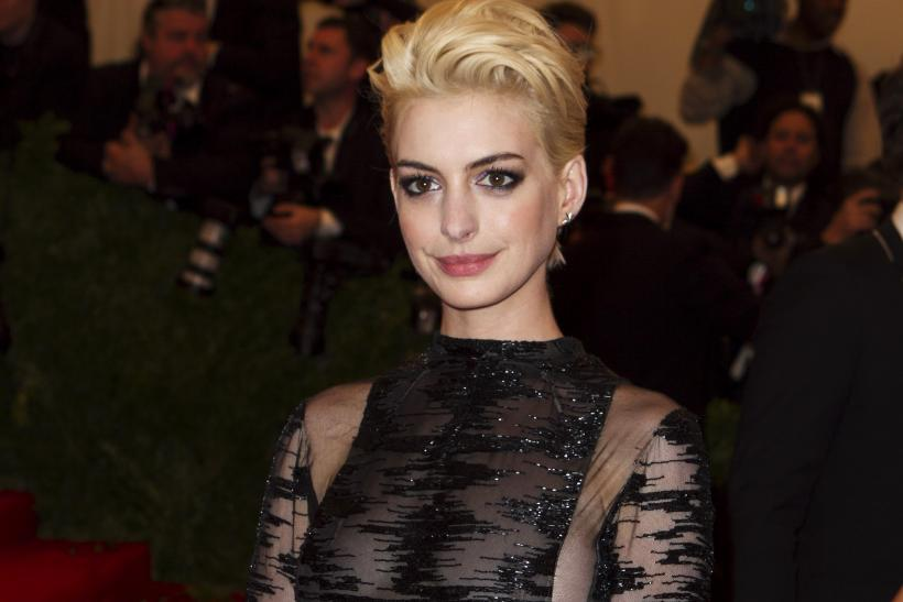 Anne Hathaway at the 2013 Met Gala