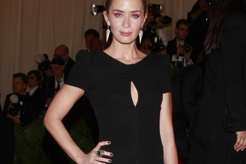 Emily Blunt at the 2013 Met Gala