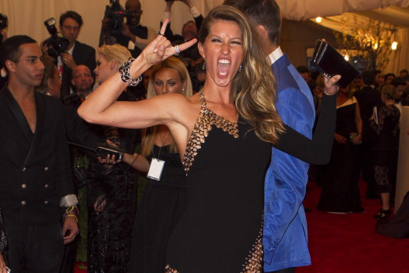 Gisele at the 2013 Met Gala