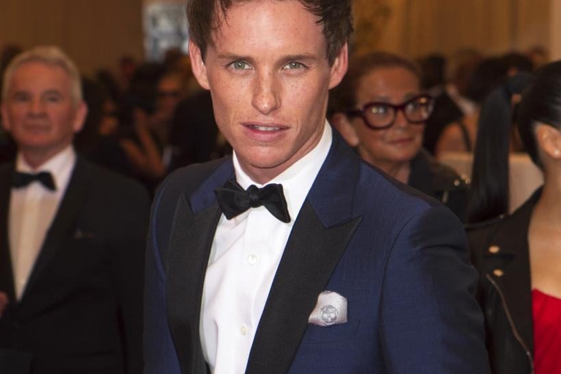 Eddie Redmayne at the 2013 Met Gala