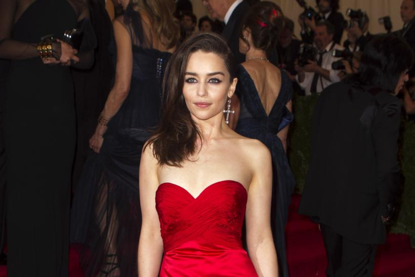 Emilia Clarke at the 2013 Met Gala