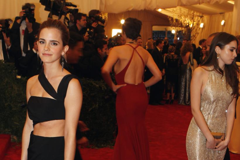 Emma Watson at the 2013 Met Gala