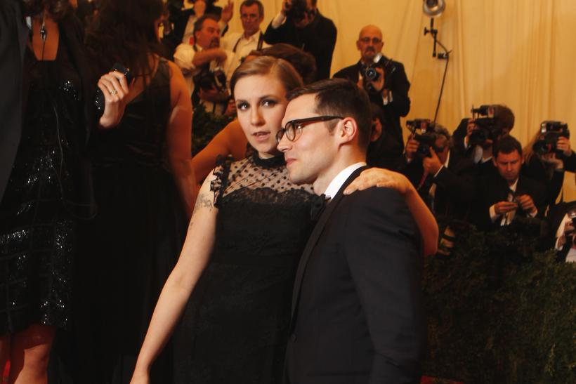 Lena Dunham and Erdem at the 2013 Met Gala
