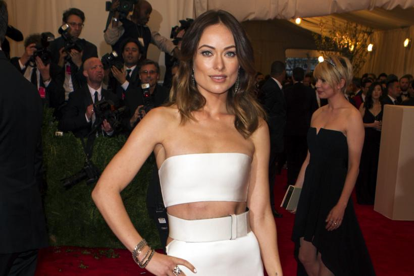 Olivia Wilde at the 2013 Met Gala