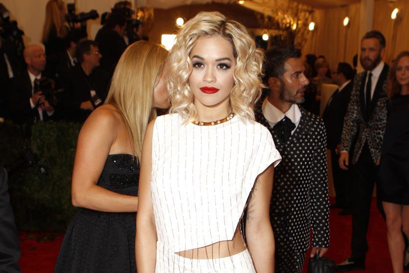 Rita Ora at the 2013 Met Gala