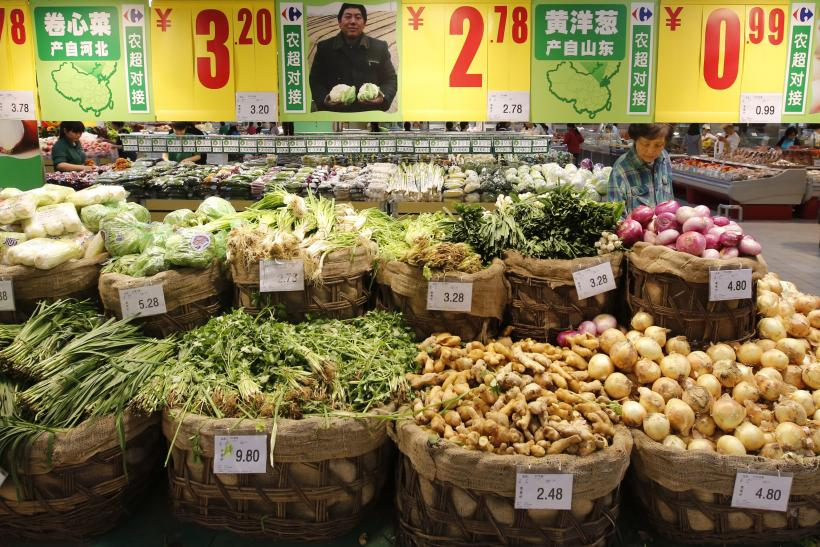 China vegetables 2013