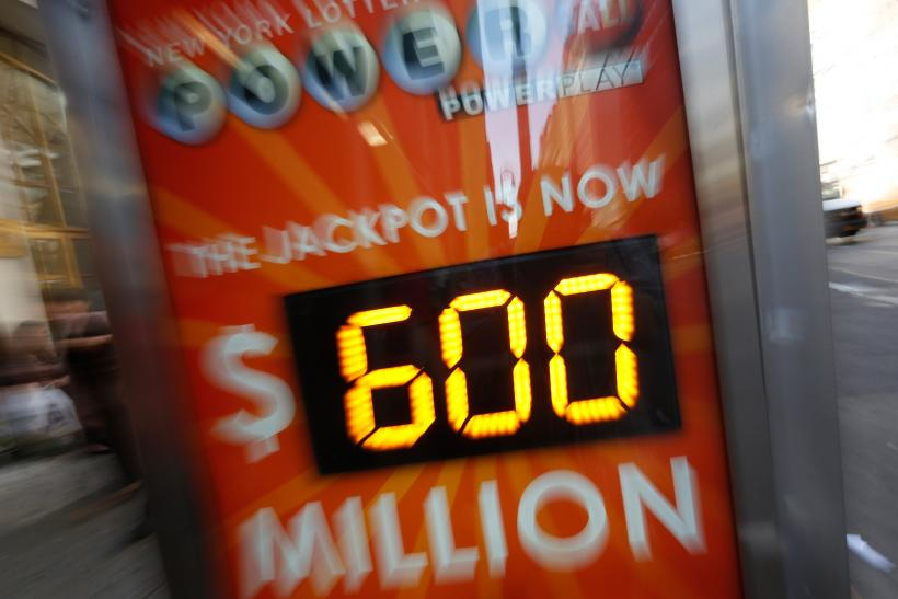 Powerball Sign-May 17, 2013