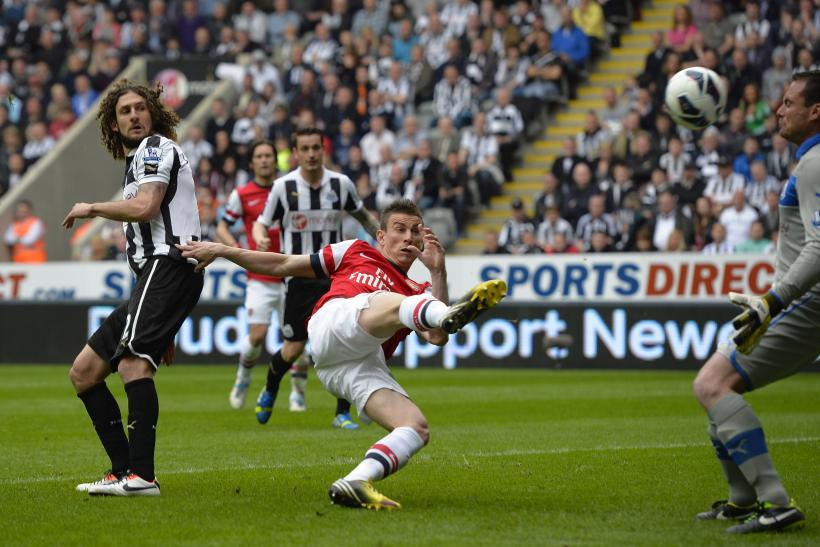 Video Arsenal 1 0 Newcastle Highlights Koscielny Grabs Vital Winner To Secure Champions League Place