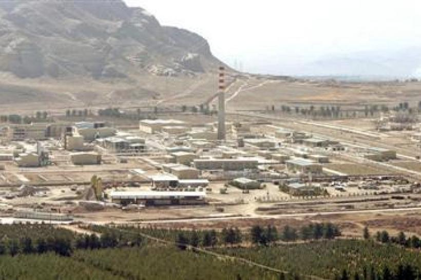 Iran nuclear enrichment facility Reuters