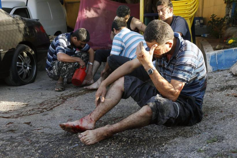 Beirut Rocket Victims