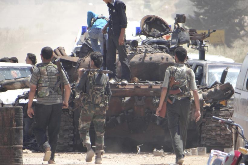 Syria civil war, tank