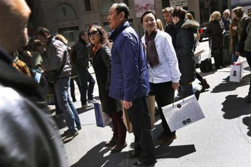 Chinese International Tourists