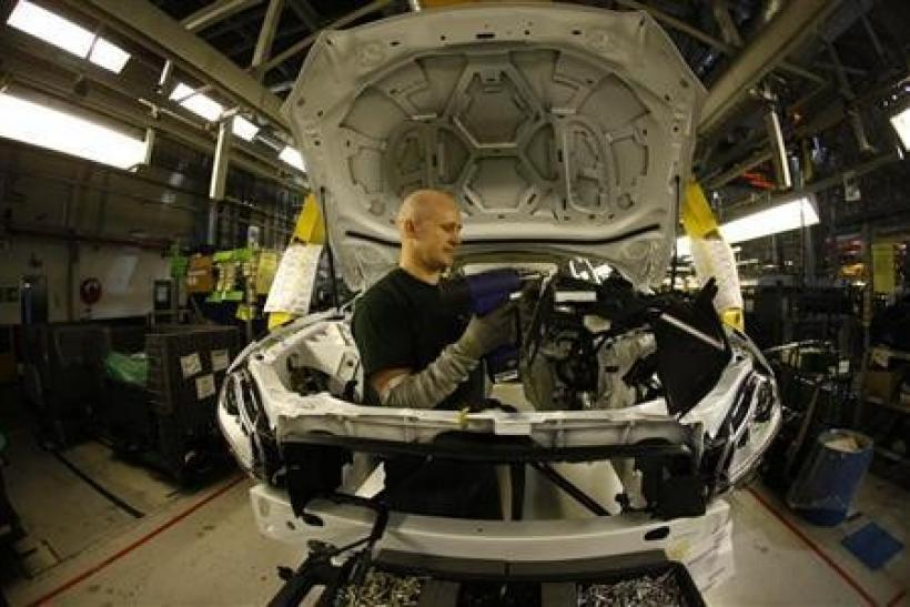 British auto assembly worker