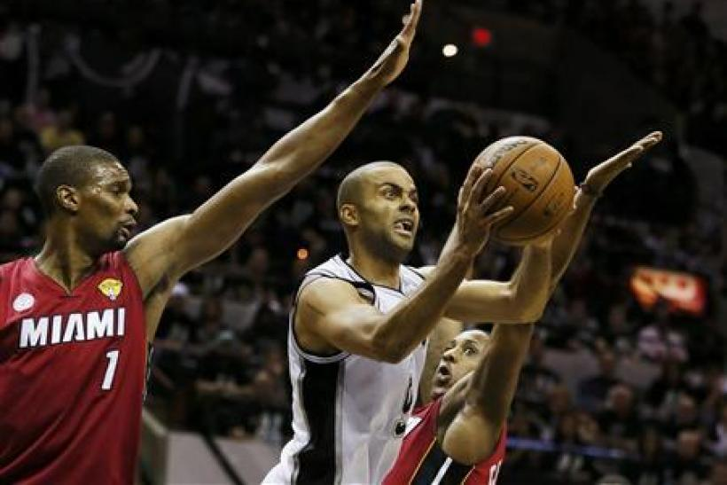 Tony Parker NBA Finals