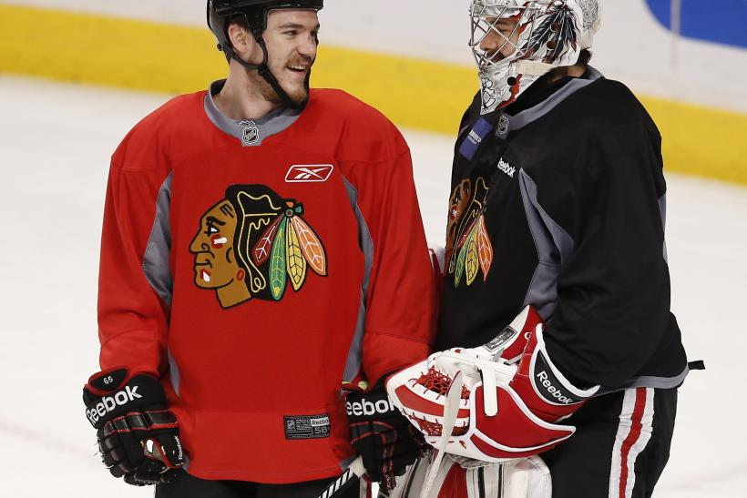 Andrew Shaw Core Crawford Chicago Blackhawks