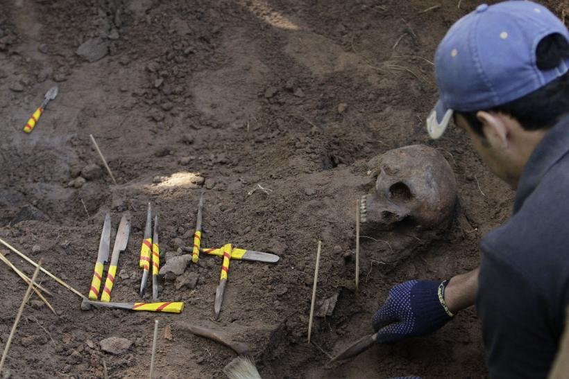 400-Year-Old Skeleton Found