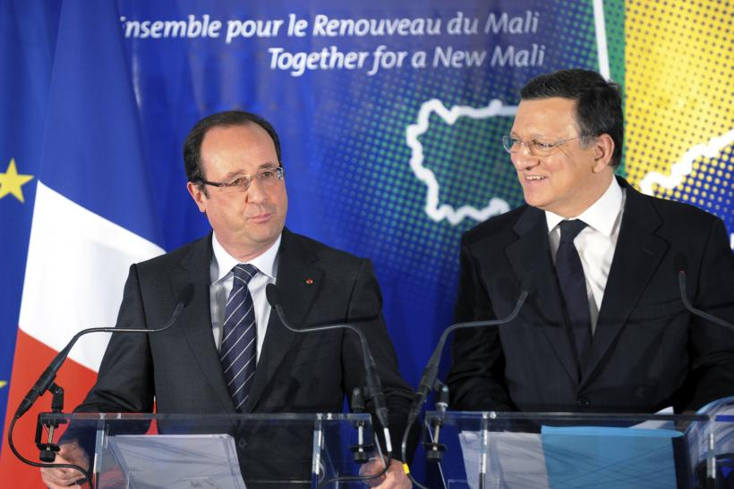Hollande and Barroso