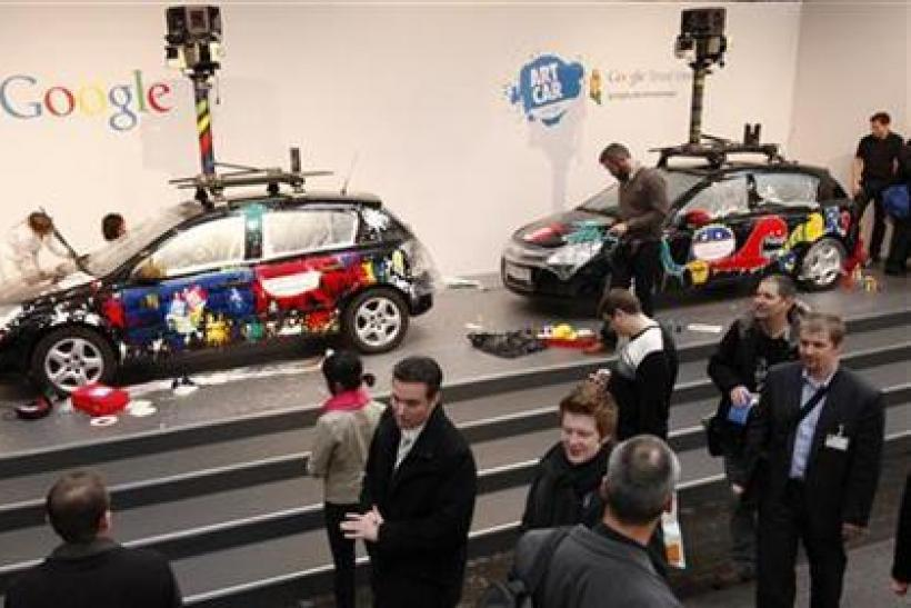 Google Street View Camera Cars
