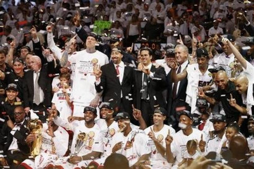Video Lebron James Wins Second Championship Ring Can The Miami Heat 3 Peat In 2014 2013 Nba Finals Recap