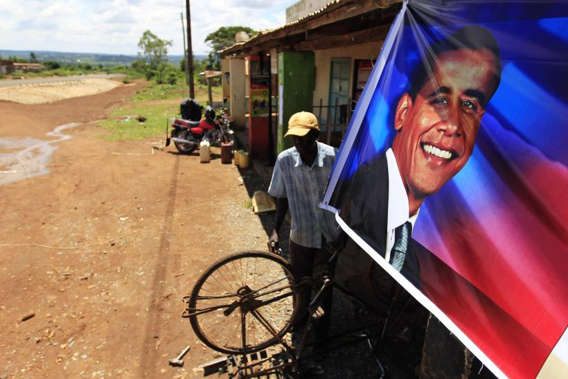 Obama Poster in Africa