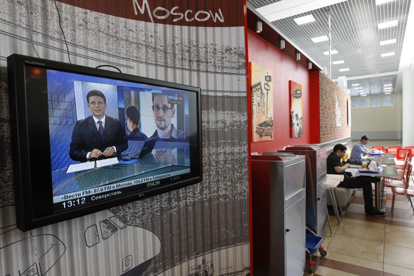 Snowden Moscow
