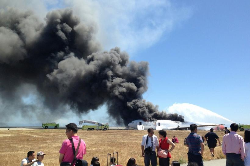 Asiana Flight 214 crash in San Francisco