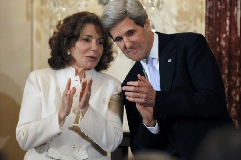 John Kerry and Teresa Heinz-Kerry