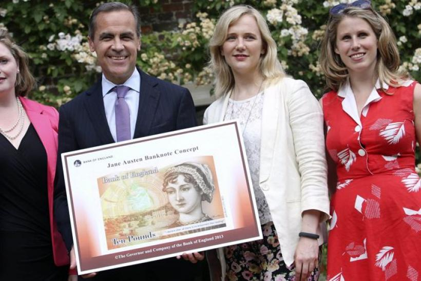 Jane Austen on the ten pound note