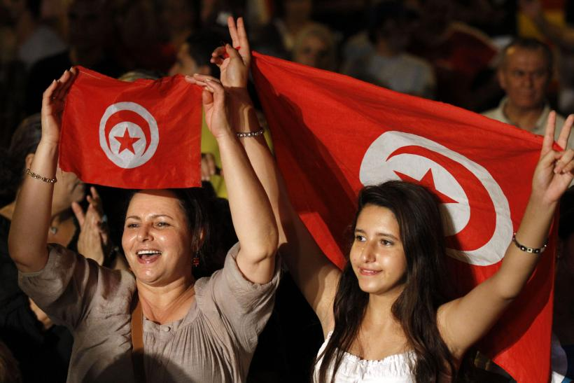 Tunisia anti-Islamist demonstration Aug. 3, 2013