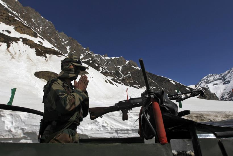 Indian Army Solider - India-China Border Dispute
