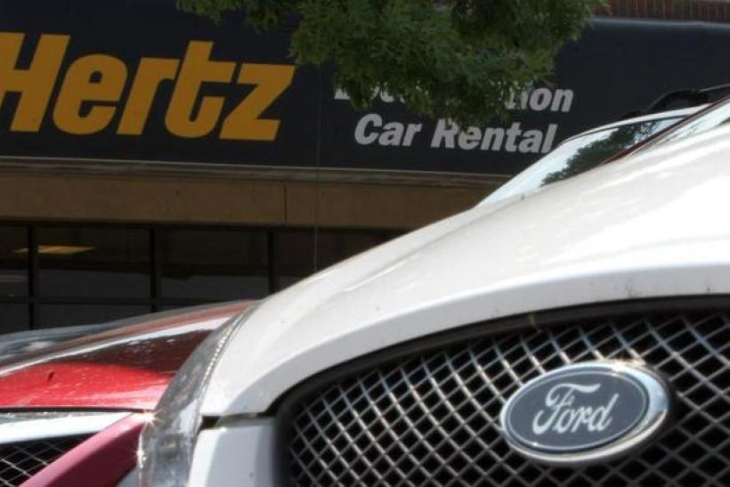 Hertz Rental car Texas Getty Images