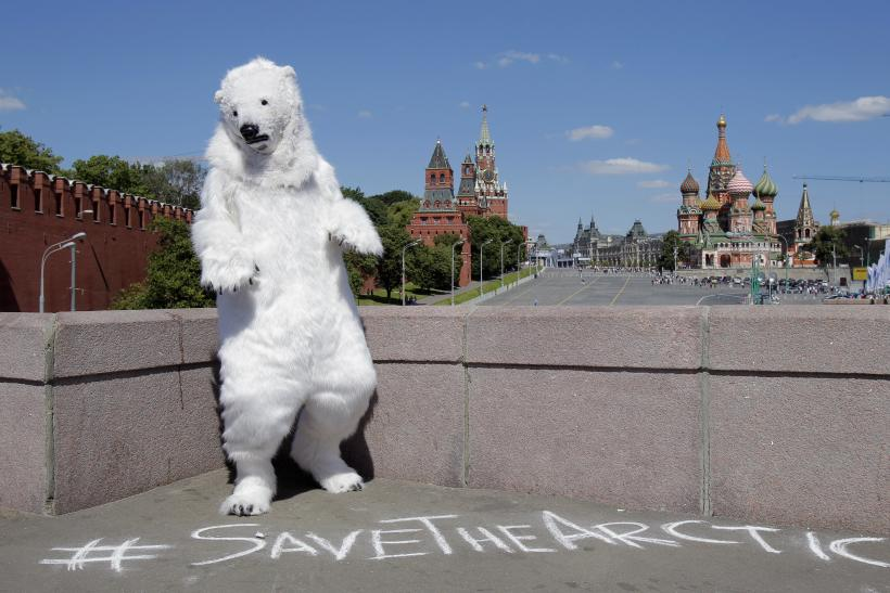 Moscow Red Square Greenpeace Aug 2013
