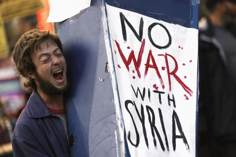 Syria Anti-war Protests