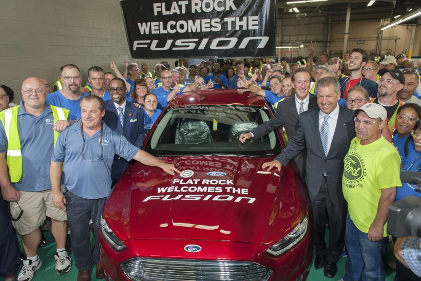 Ford Fusion Aug 2013