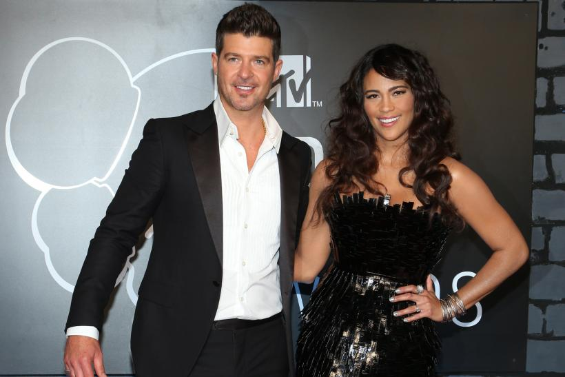 Robin thicke new wife