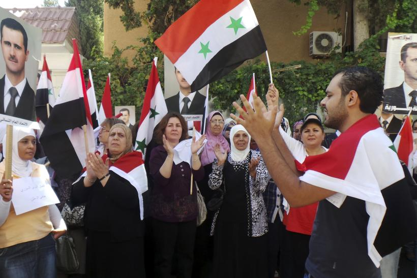 Assad's supporters