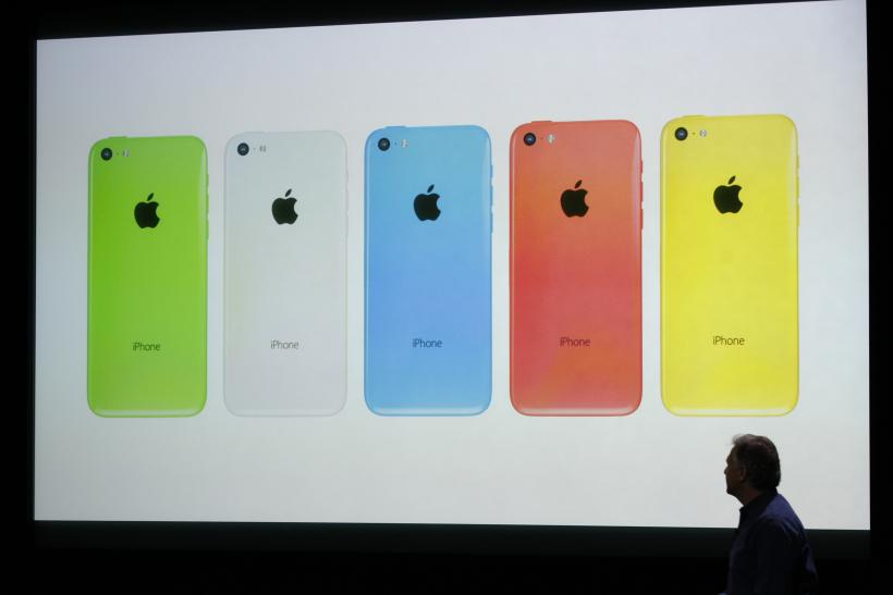 Apple 5 Colors 10Sept2013