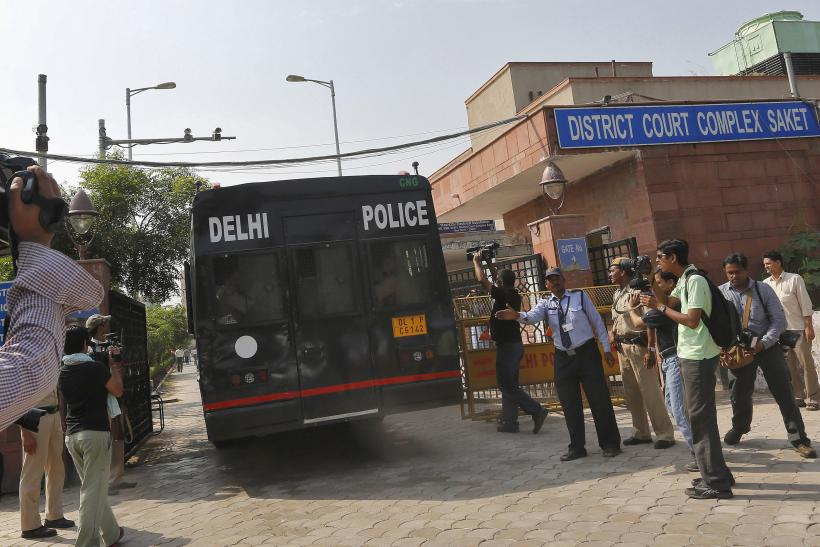 Delhi rape_Vehicle carrying suspects