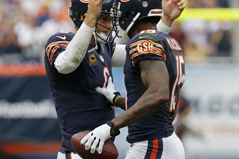 Jay Cutler Brandon Marshall Chicago Bears